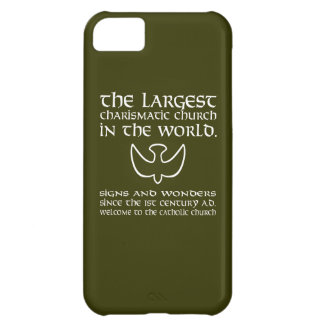 The Largest Charismatic Church in the world. White iPhone 5C Covers