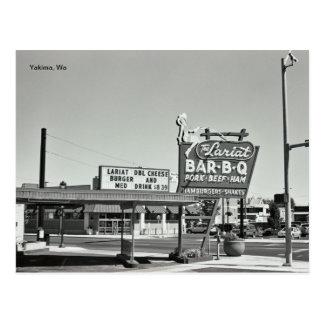 The Lariat - Yakima, WA Postcard
