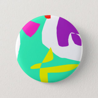 The Last and the First Message in Paints Pinback Button