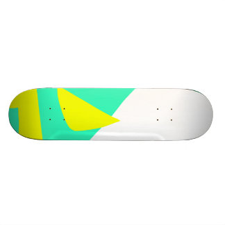 The Last and the First Message in Paints Custom Skate Board