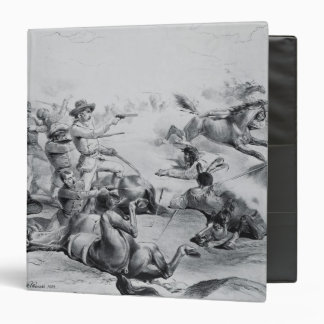 The Last Battle of General Custer 3 Ring Binder