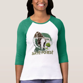 The Last Breath on Earth(SAVE THE FOREST) Tees