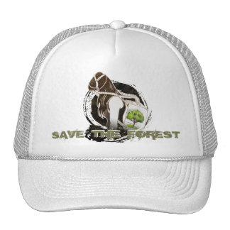 The Last Breath on Earth(SAVE THE FOREST) Trucker Hat