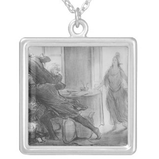 The last cabinet meeting of the ex-ministers custom necklace