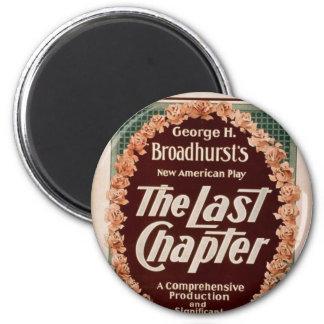 The Last Chapter Retro Theater Fridge Magnets