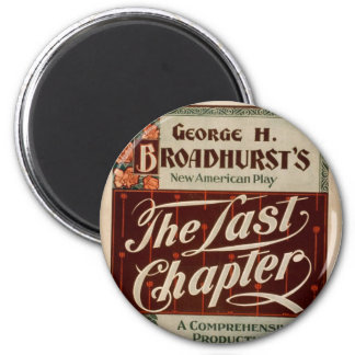 The Last Chapter Vintage Theater Fridge Magnets