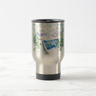 The Last Christmas Tree Travel Mug