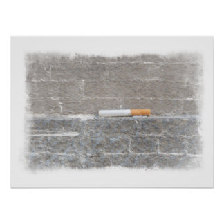 The Last Cigarette - Will Power to Quit Smoking Poster