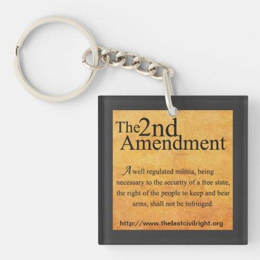 The Last Civil Right 2nd Amendment Key Chain