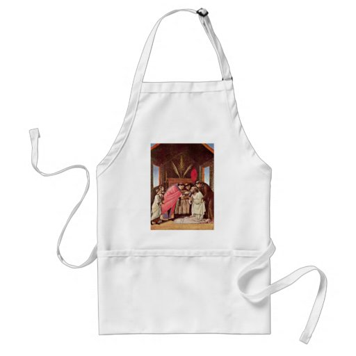 The Last Communion Of St. Jerome By Botticelli Aprons