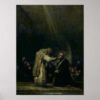 The Last Communion of St. Joseph Calasanz Poster