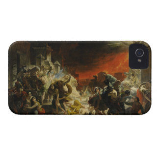 The Last Day of Pompeii by Karl Briullov Vesuvius iPhone 4 Cover