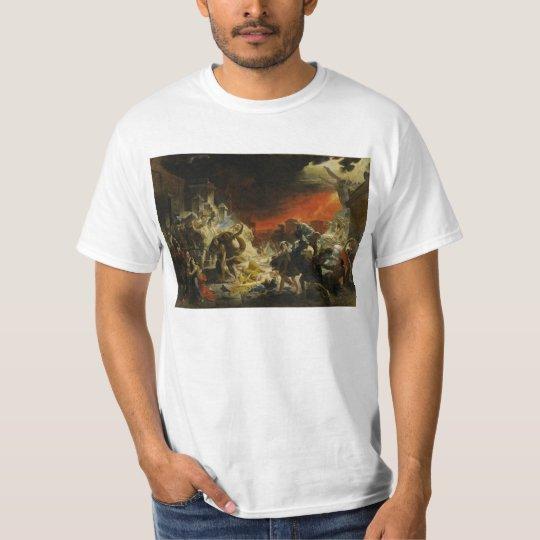 The Last Day of Pompeii by Karl Briullov Vesuvius T-Shirt