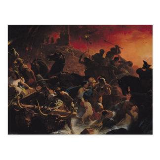 The Last Days of Pompeii Postcard