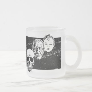 The Last Enemy Frosted Glass Mug