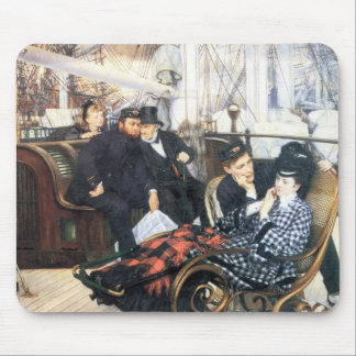 The last evening by James Tissot Mouse Pad