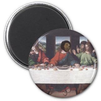 The Last Fresco 2 Inch Round Magnet