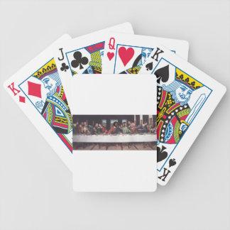 The Last Fresco Poker Cards