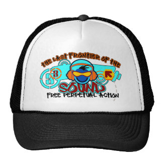 THE LAST FRONTIER OF THE SOUND TRUCKER HAT