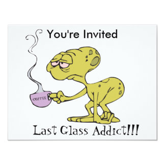 The Last Glass Addict Card