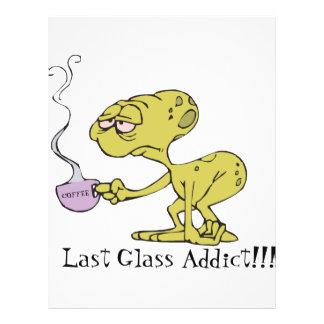 The Last Glass Addict Flyer