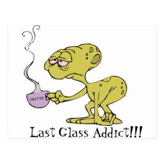 The Last Glass Addict Postcard