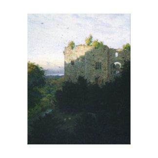 The Last Gleam, 1866 Stretched Canvas Print