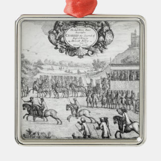 The Last Horse Race run Metal Ornament