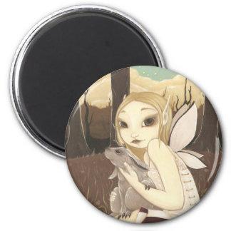 The Last Jackalope - Fairy magnet Magnets