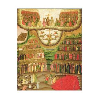 The Last Judgement, 1721 Stretched Canvas Prints