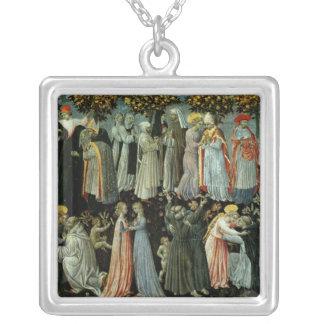 The Last Judgement 2 Square Pendant Necklace