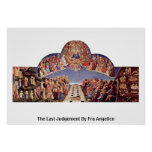The Last Judgement By Fra Angelico Print