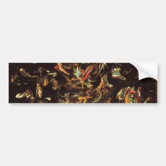 The Last Judgement by Hieronymus Bosch Car Bumper Sticker