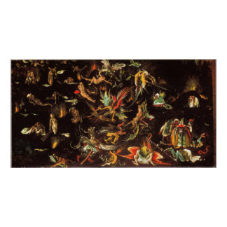 The Last Judgement by Hieronymus Bosch Poster