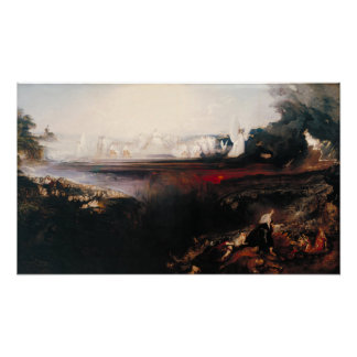The Last Judgement by John Martin Poster