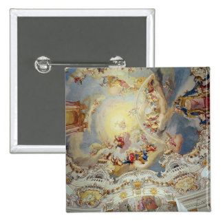 The Last Judgement, ceiling painting Button