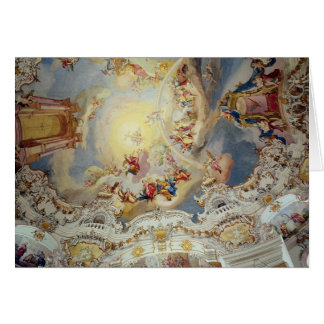 The Last Judgement, ceiling painting Card