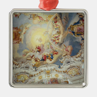 The Last Judgement, ceiling painting Metal Ornament