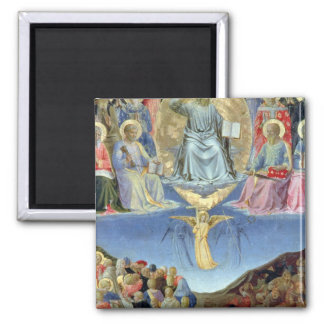 The Last Judgement, central panel from a Triptych Magnet