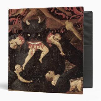 The Last Judgement, detail of Satan devouring Binder