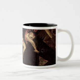 The Last Judgement, detail of Satan devouring Two-Tone Coffee Mug