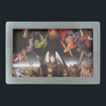 "The Last Judgement. Hans Memling; c. 1467-1471 Belt Buckle<br><div class=""desc"">&#39;Gods and Demons&#39; beautiful images from legendary artists</div>"