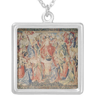 The Last Judgement: The Redemption of Man Silver Plated Necklace