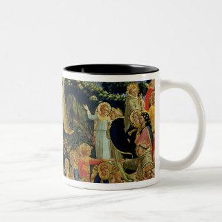 The Last Judgement Two-Tone Coffee Mug