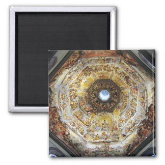 The last Judgment 2 Inch Square Magnet