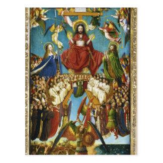 The Last Judgment by Jan Van Eyck Postcard