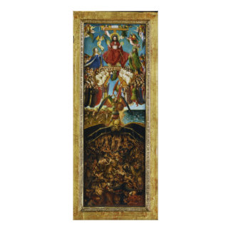 The Last Judgment by Jan Van Eyck Poster