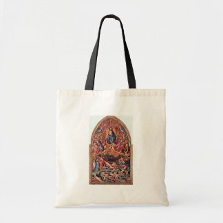The Last Judgment By Master Of The Bambino Vispo Canvas Bags