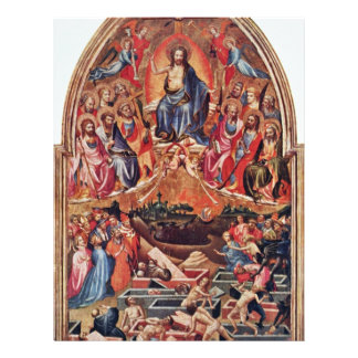 The Last Judgment By Master Of The Bambino Vispo Flyer