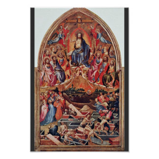The Last Judgment By Master Of The Bambino Vispo Posters